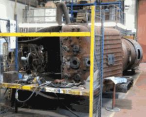 Boiler Undergoing Repairs // Credit SMF