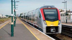 Greater Anglia new train enters service