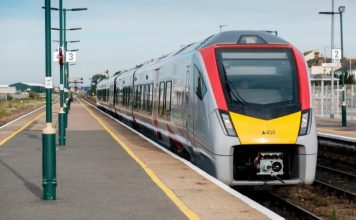 Greater Anglia new train enters service