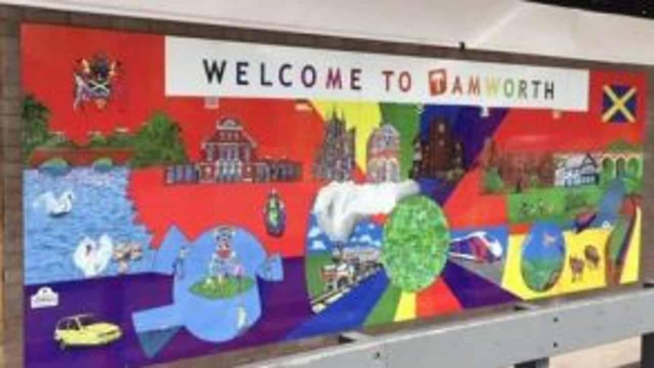 Tamworth artwork