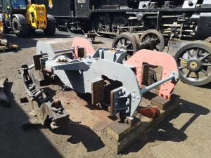 Repainted Bogie // Credit GCR shed works (loughborough) FB Page