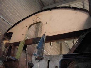 Template for Repairs // Credit The Sir Nigel Gresley Locomotive Trust Ltd