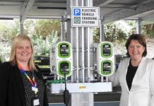 electric car charging points