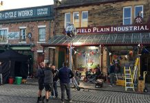 Downton Abbey filming at Beamish