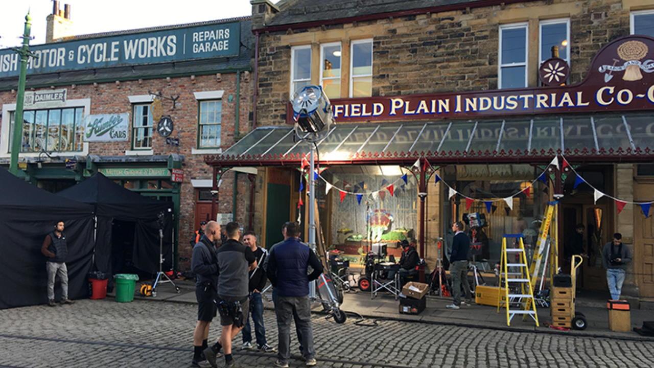Downton Abbey filming at Beamish