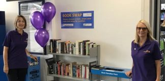 Elmstree and Borehamwood book swap