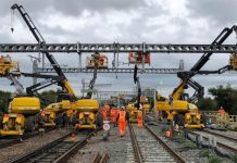 Electricity turned on by Network Rail