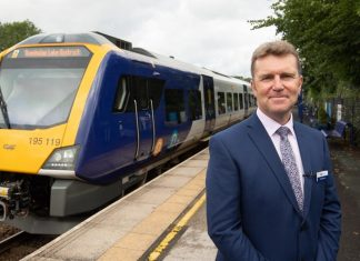 Northern new trains in Windermere
