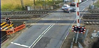 level crossing jumping