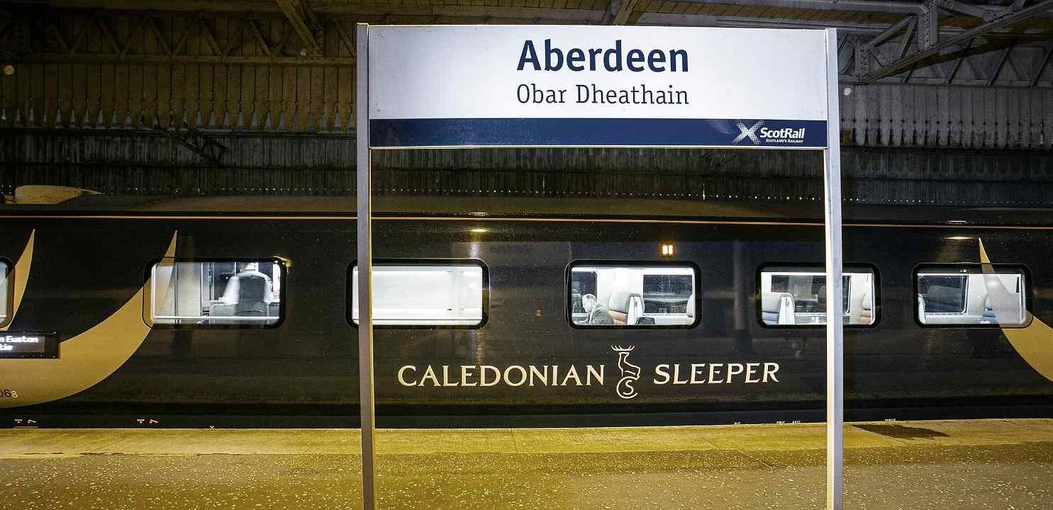 Caledonian Sleeper Aberdeen
