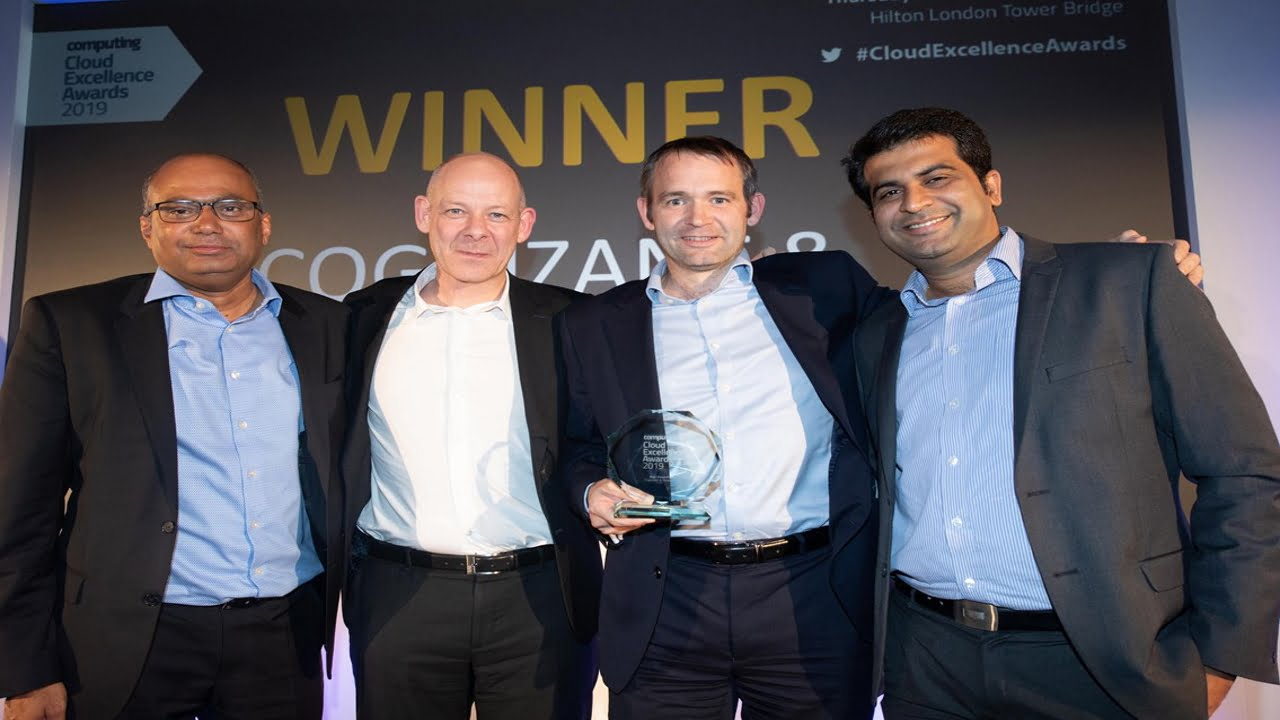 Cloud excellence awards Network Rail