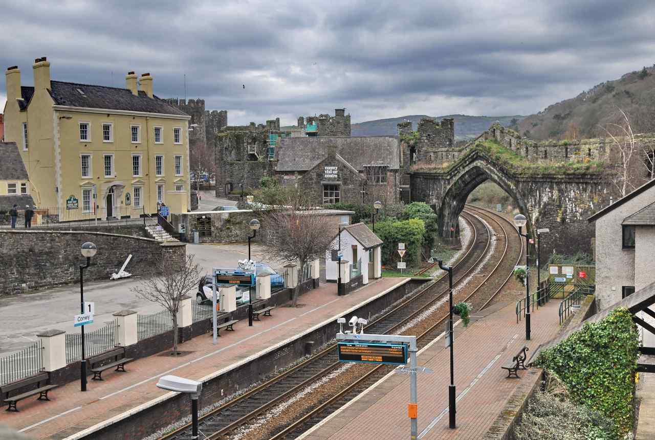 Conwy Station, Britain's Favourite Railway Station?