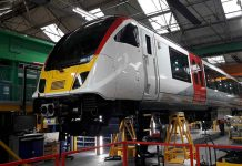 Greater Anglia New Class 720 Trains near completion at Bombardier