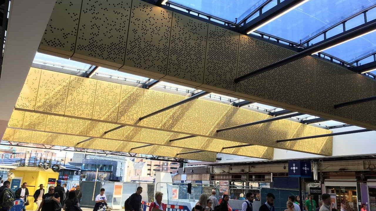 Leeds Station More Improvements To Come Following Roof