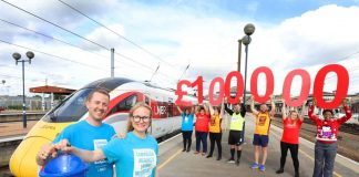 100k raised for CALM by LNER