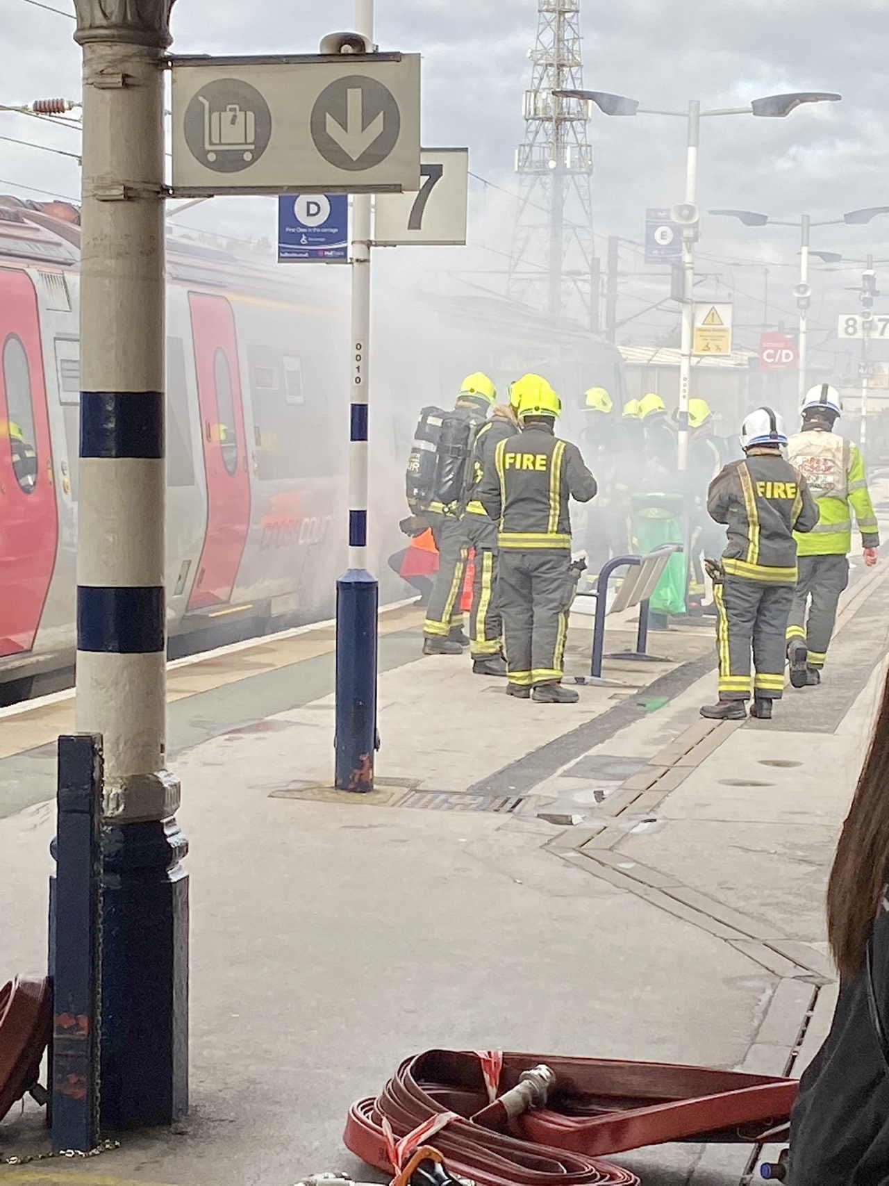 Doncaster train fire