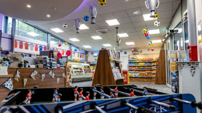 Liverpool South Parkway new shop