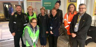 Ormskirk Station World Mental Health Day