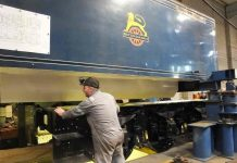 Tender Tank Lifted // Credit The Sir Nigel Gresley Locomotive Trust Ltd