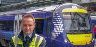 christopher harvie scotrail lifesaver award nomination