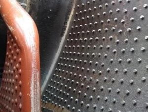 34059's Firebox Stays // Credit Bluebell Railway