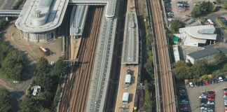 Ashford International aerial