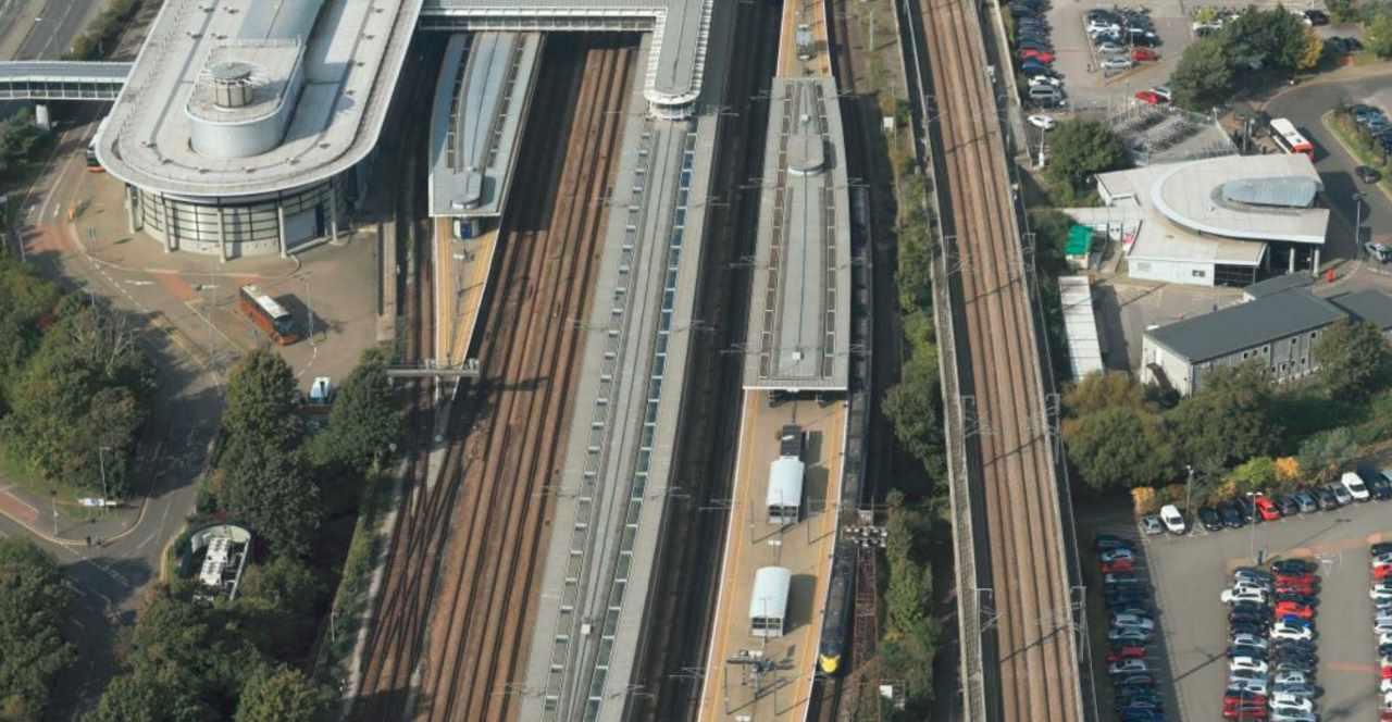 Ashford International aerial