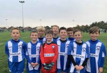 Whitley Bay F.C. Juniors under 8 football team