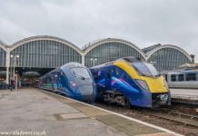 Hull Trains 802 and 180 at Hull