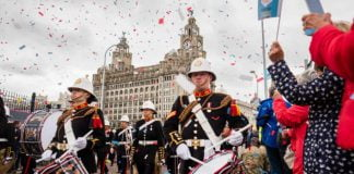 24th June, 2017. Liverpool, UK. Armed Forces Day.