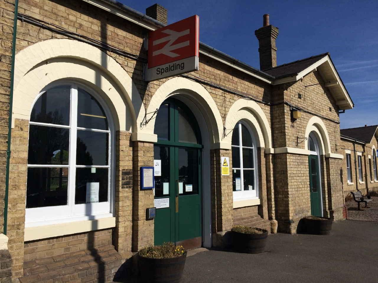 Spalding railway station lift upgrade