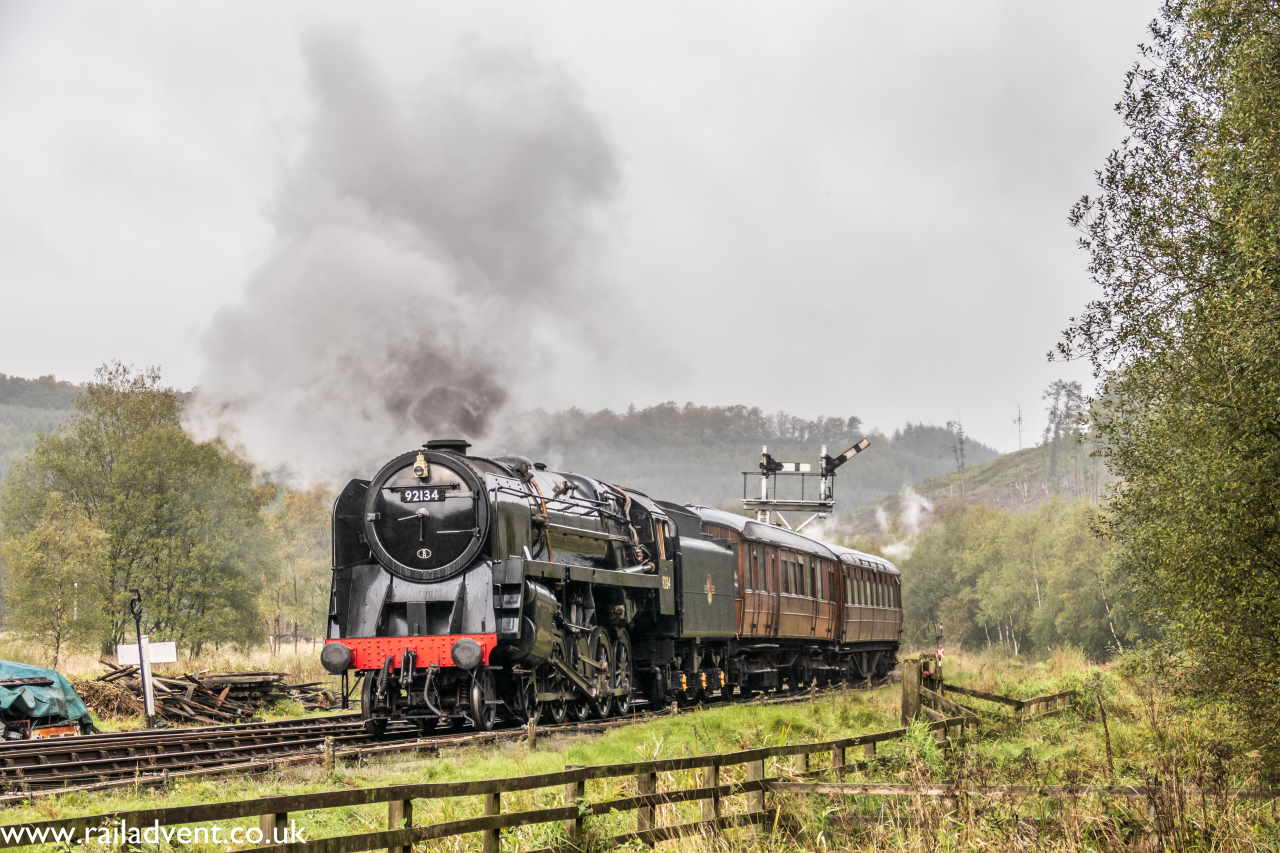 Steam locomotive 92134
