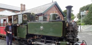 No. 7 Tom Rolt at Tywyn