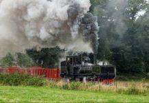 Garratt K1 on the Welsh Highland Railway
