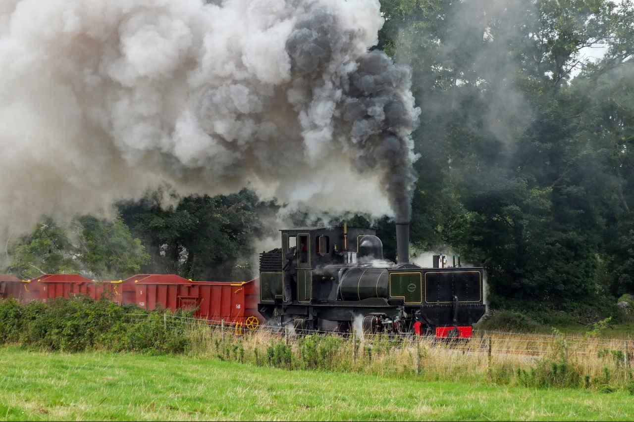 Garratt K1 on the Welsh Highland Railway