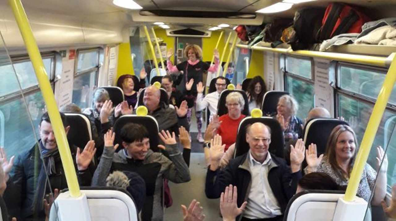Merseyrail Fitness Train