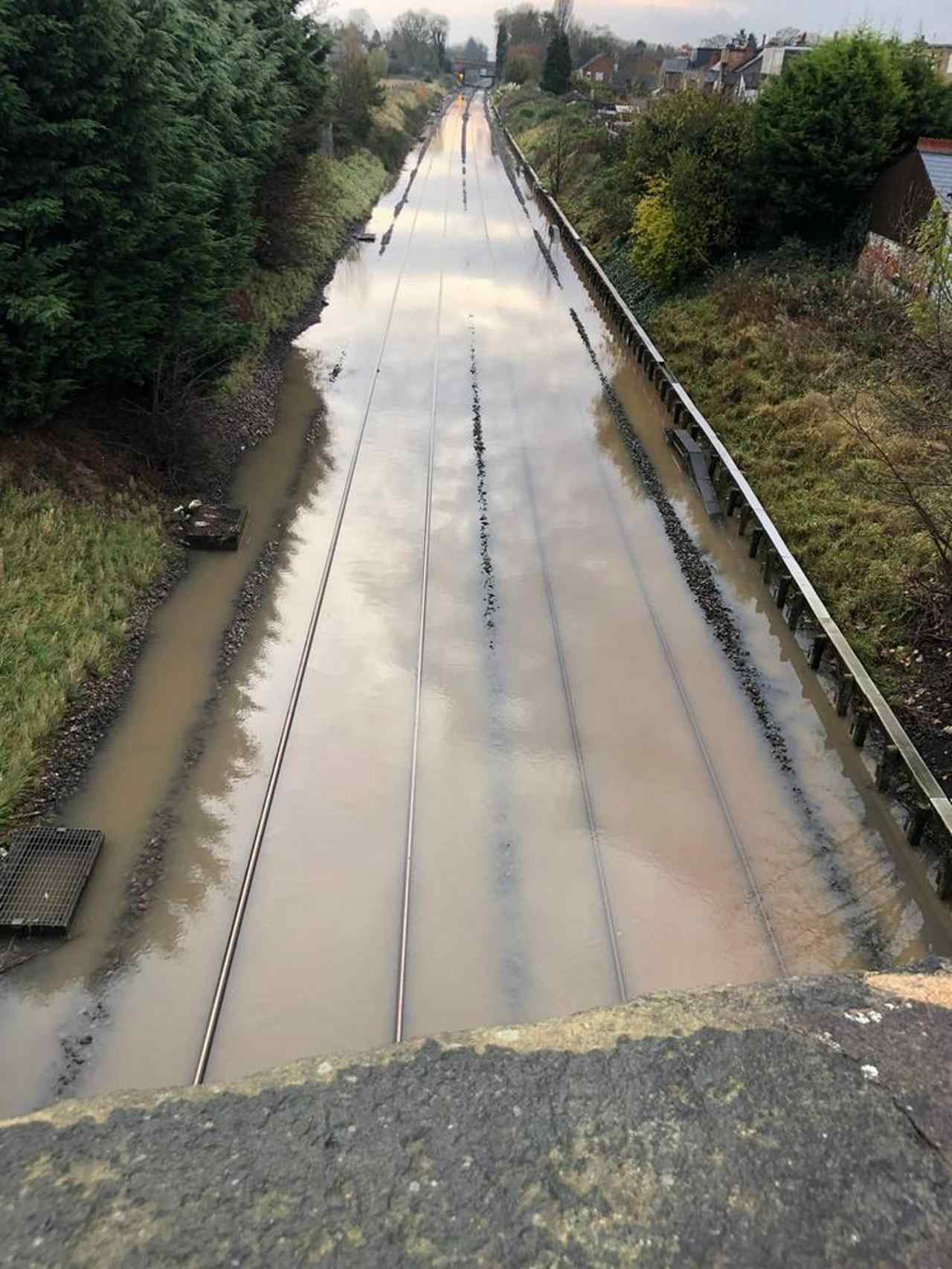 Train services resume between Long Eaton and Derby after flooding - RailAdvent - Railway News