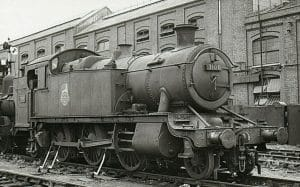 3100 in July 1957 Withdrawn at Swindon Works // Credit Unknown