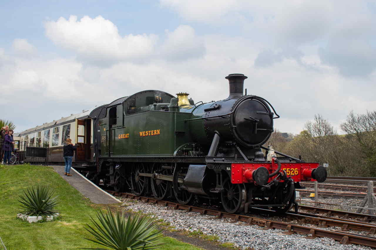 5526 at the Didcot Railway Centre