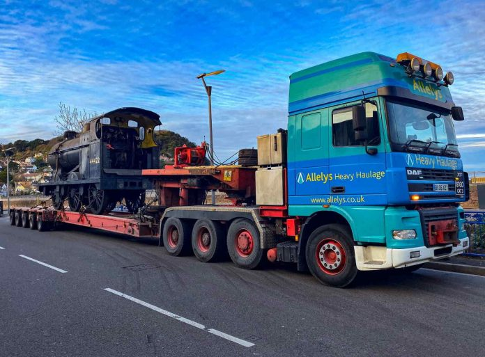 4F 44422 moves to the Churnet Valley Railway