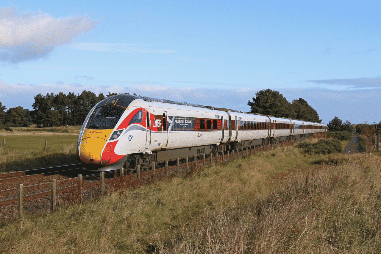 LNER Azuma in Aberdeen