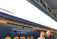 GB Railfreight name locomotive after employee