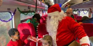 East Midlands Railway welcomes santa