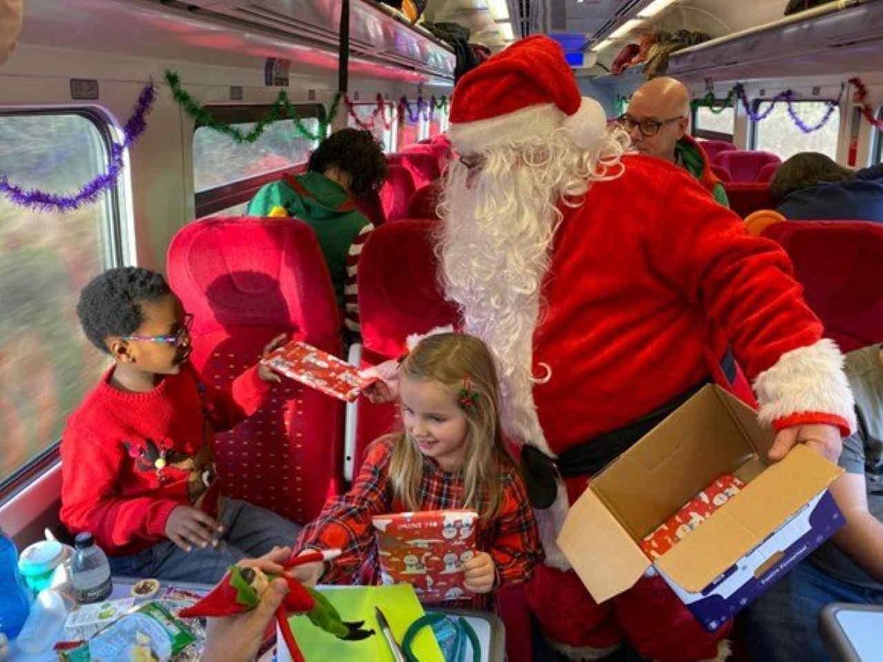 East Midlands Railway welcomes santa
