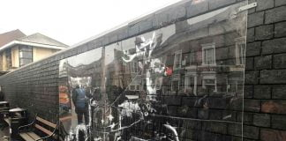 Network Rail protects Banksy art