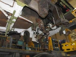 View from Underneath the Frame Credit// The Sir Nigel Gresley Locomotive Trust Ltd