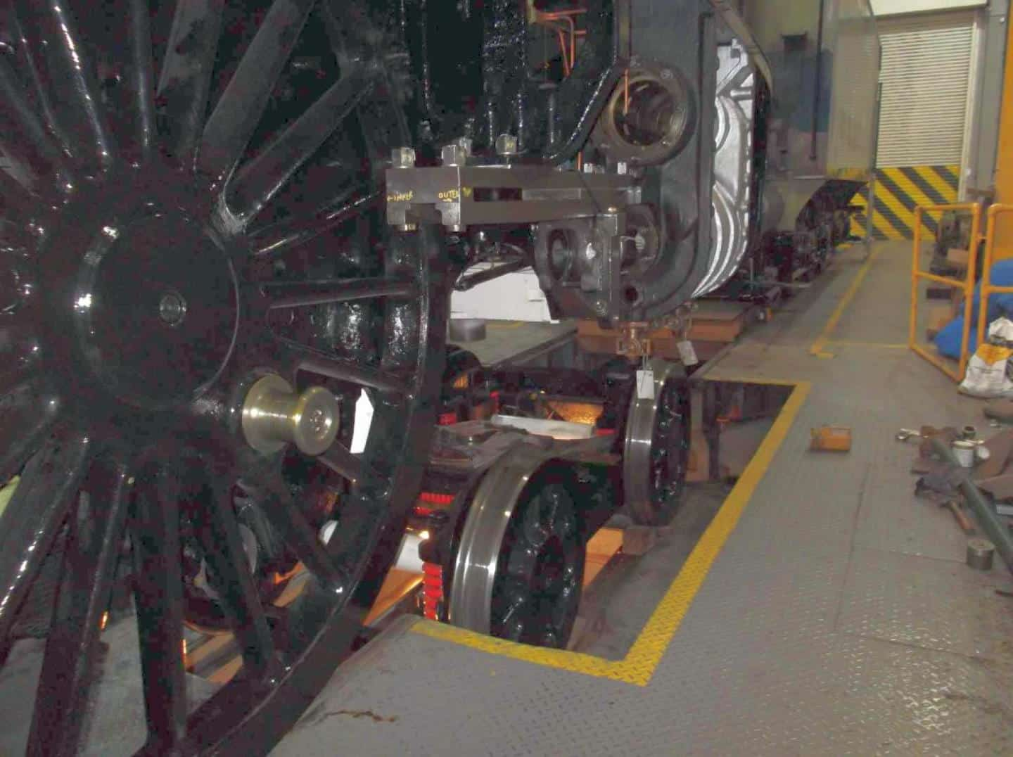 Working on the Bogie Credit // The Sir Nigel Gresley Locomotive Trust Ltd