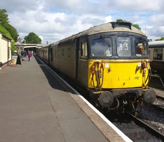 33110 at the Bodmin and Wenford Railway