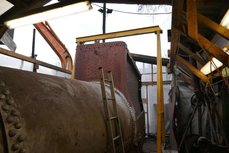 4253 Boiler // Credit 4253 Locomotive Company
