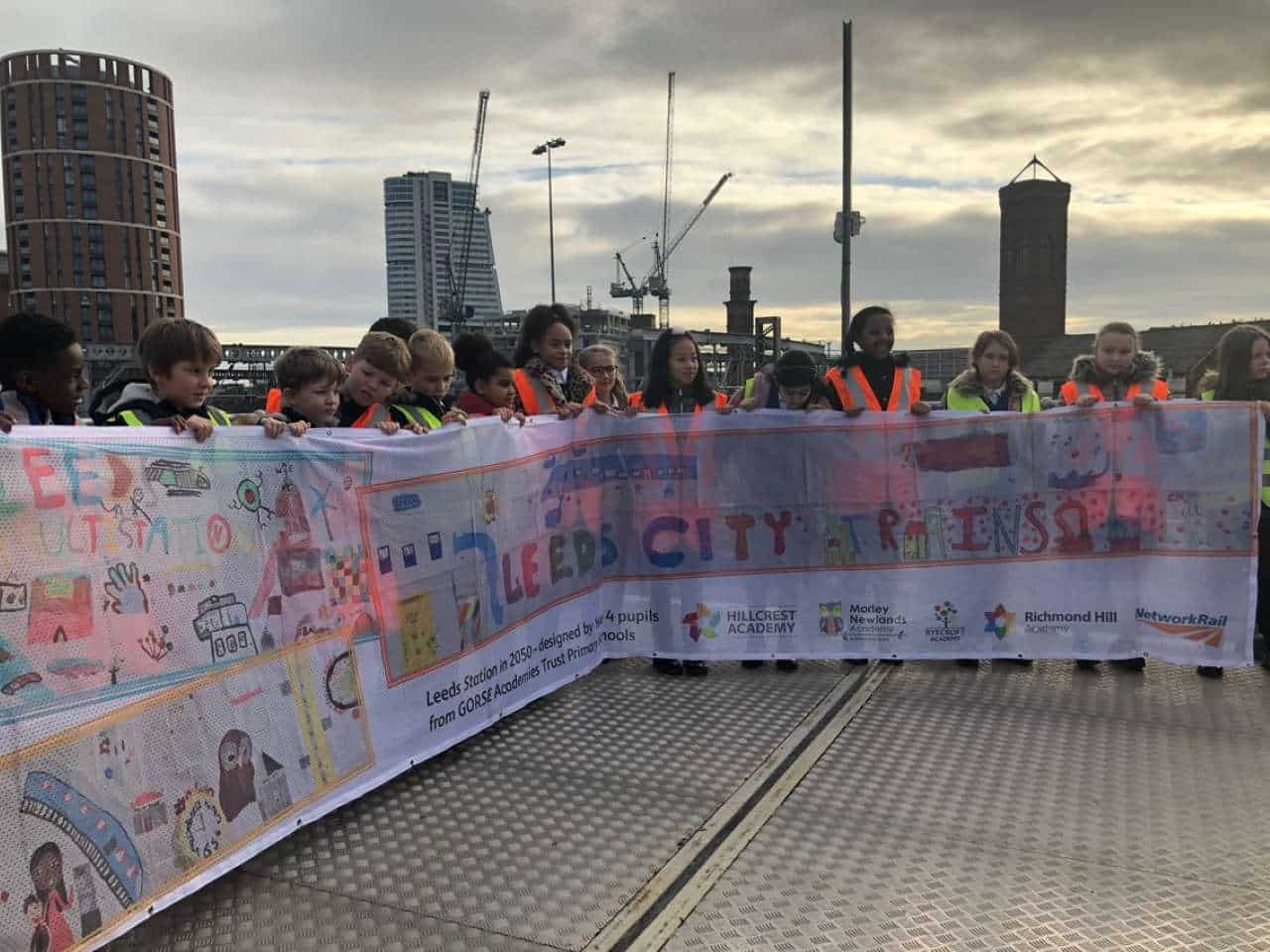 Leeds pupils have day out at railway station